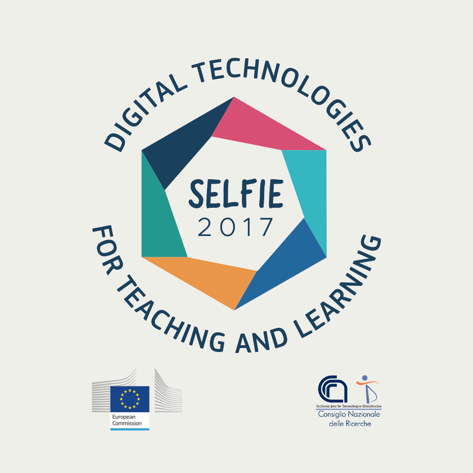 SELFIE 2017 Digital Technologies for teaching and learning - badge